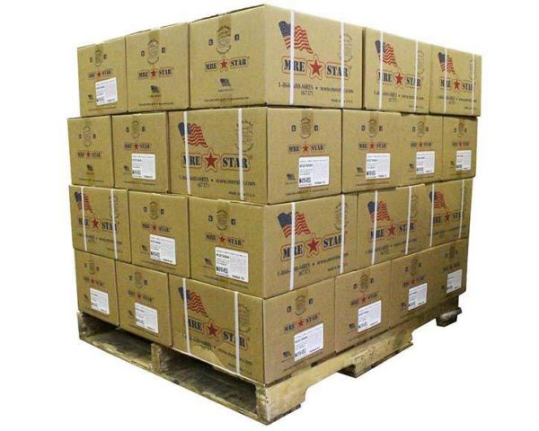 MRE Star Meal Ready to Eat Pallet